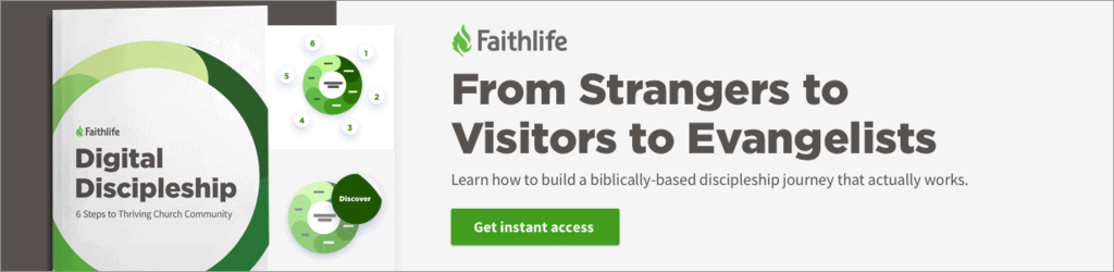 image ad for free Digital Discipleship guide for churches